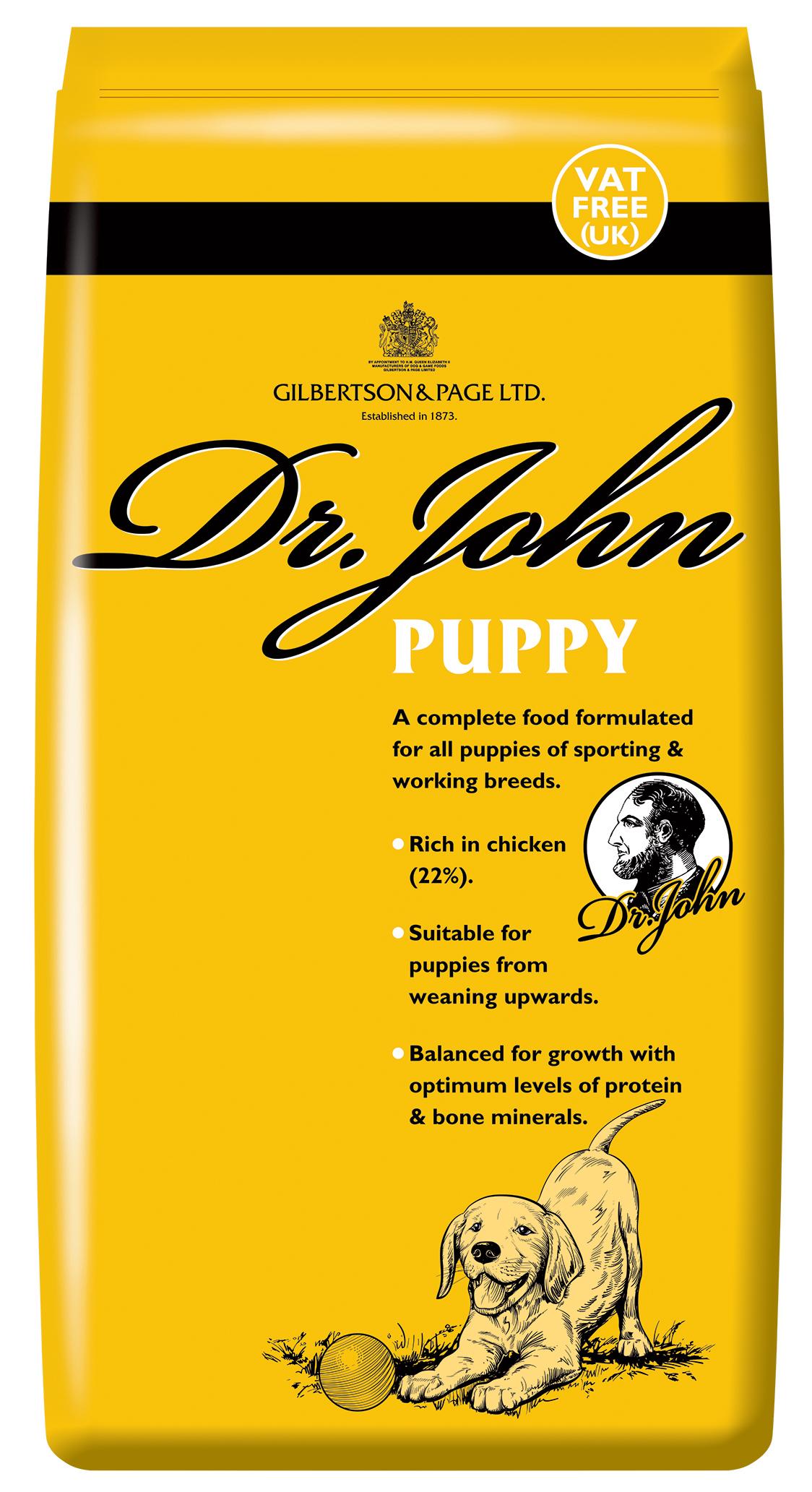Dr John Puppy Dog Food