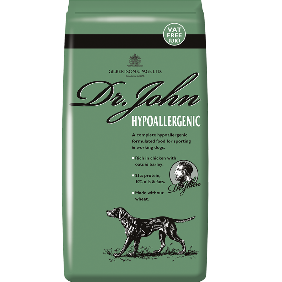Dr. John Hypoallergenic - Gilbertson and Page - Dog, Cat and Ferret Food