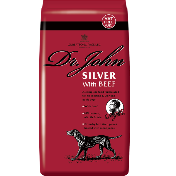 Dr John Silver Beef Dog Food