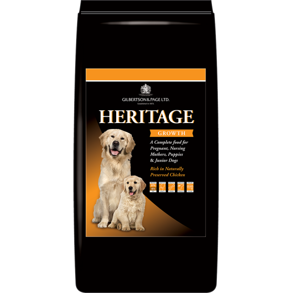 Heritage Growth Dog Food