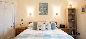 Westleigh Bedroom. Dog-friendly B&B.