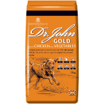 Dr John Gold dog food pack image