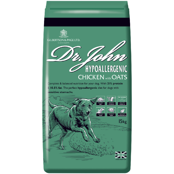 Dr John Hypoallergenic Chicken Dog Food Pack Image