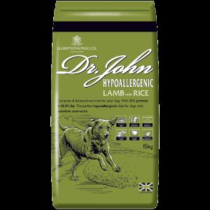 Dr John Hypoallergenic Lamb Dog Food Pack Image