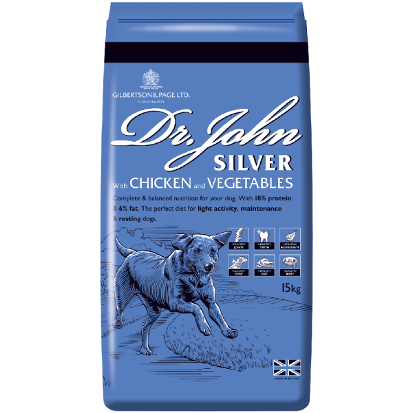 Dr John Silver Chicken Dog Food Pack Image